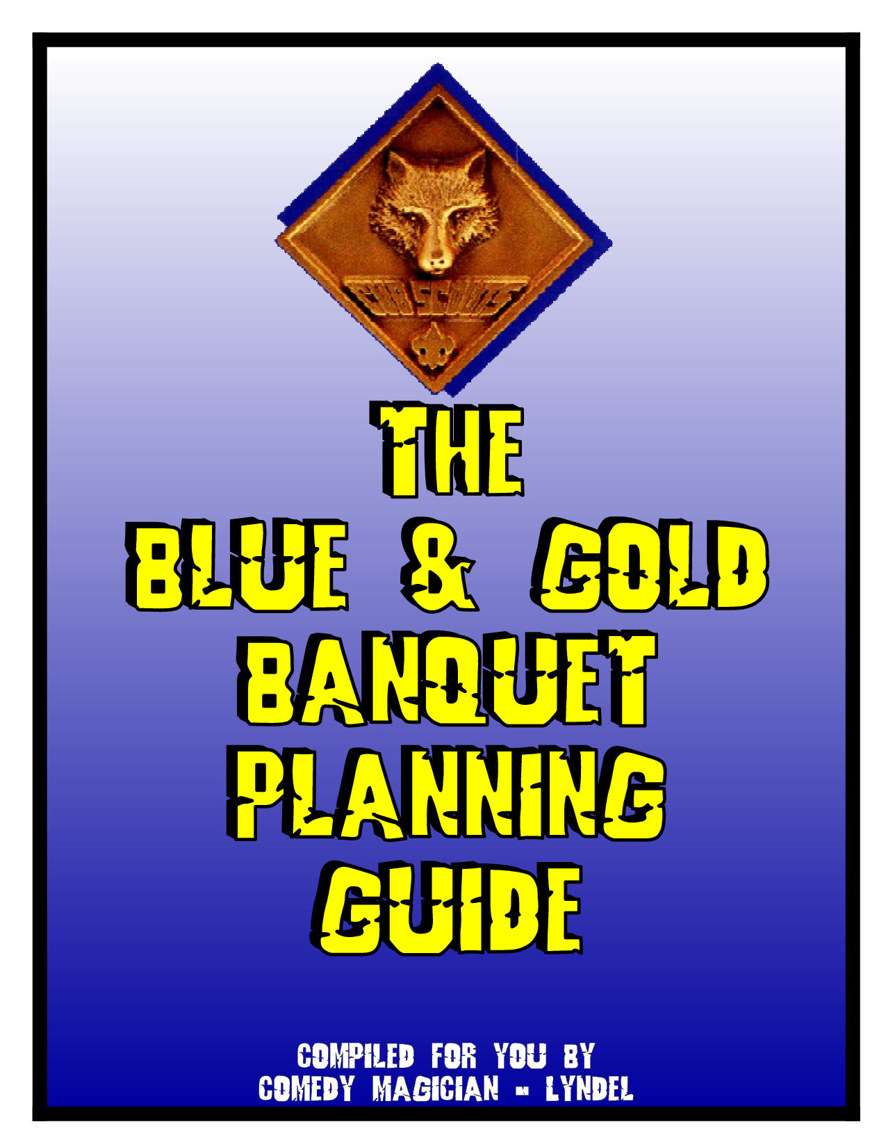 cub scout blue and gold program template - blue and gold banquet clipart clipground