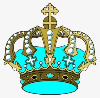Free Gold Crown Clip Art with No Background.