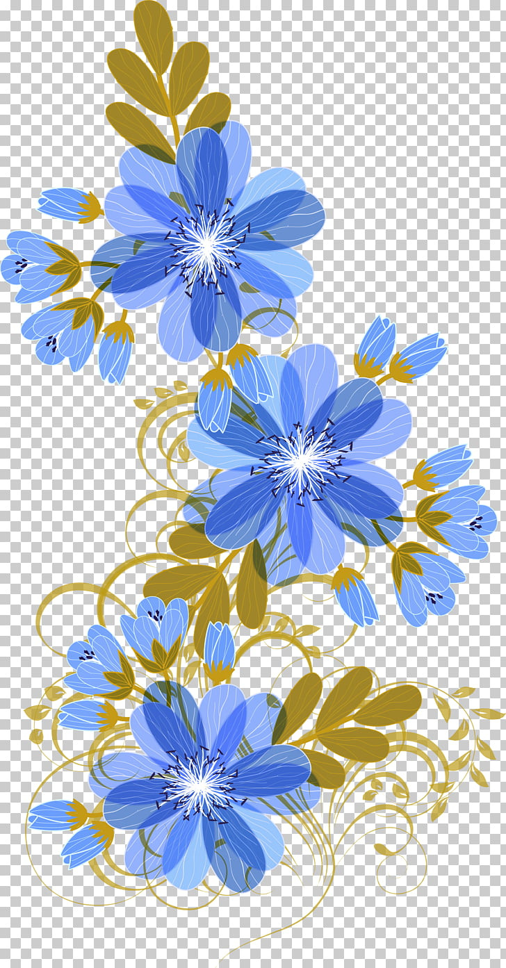 Floral design Blue Flower, Fresh blue flowers, blue and.