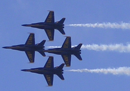 Blue angels clipart.