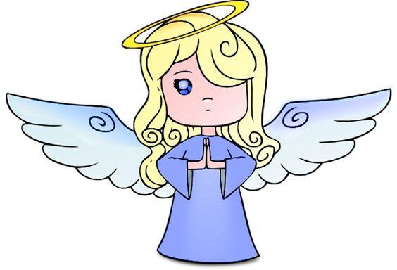 Blue Angel Clipart.