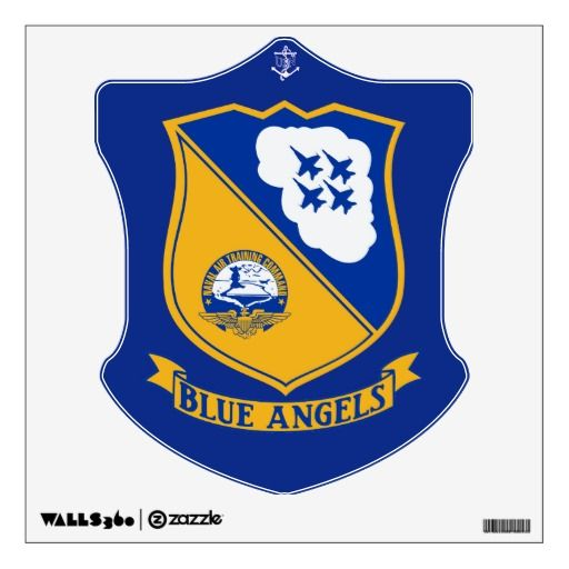US Navy Blue Angels Wall Decal.