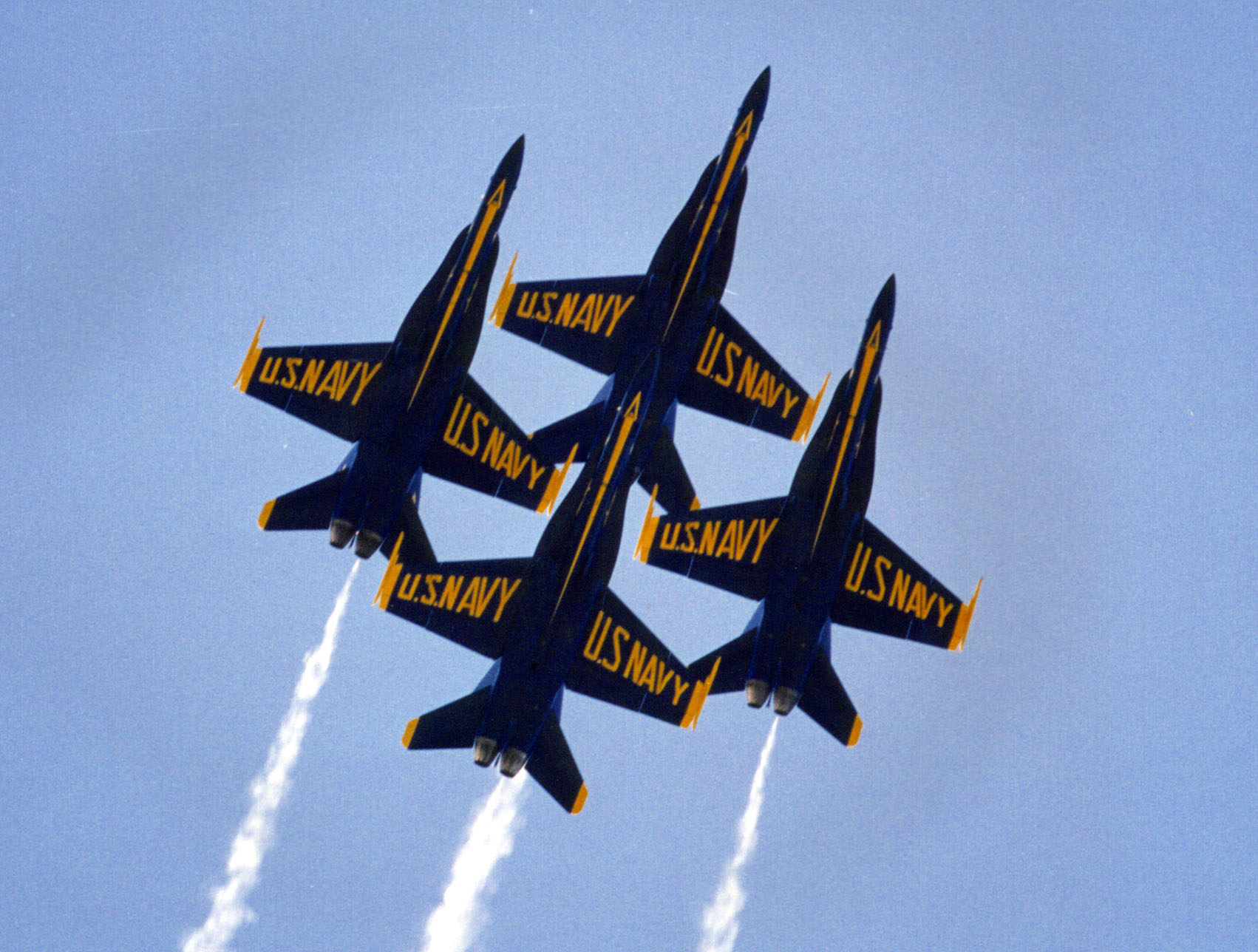 Blue Angels Formation.
