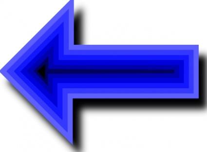 Left Blue Arrow clip art clip arts, free clipart.