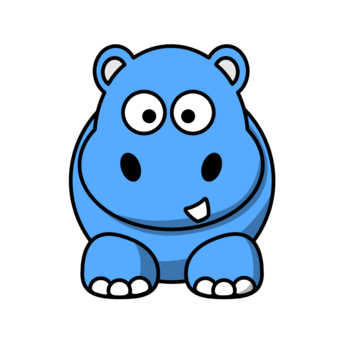blue baby animal clipart - Clipground