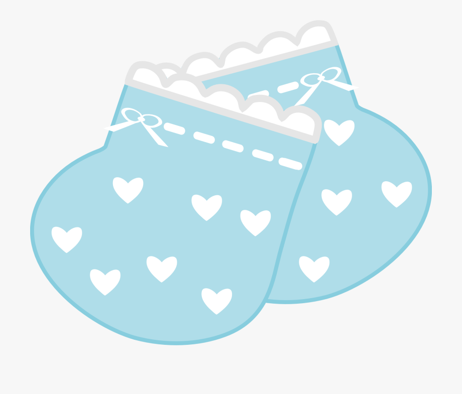 Blue Baby Booties Clipart 4 By Meagan.