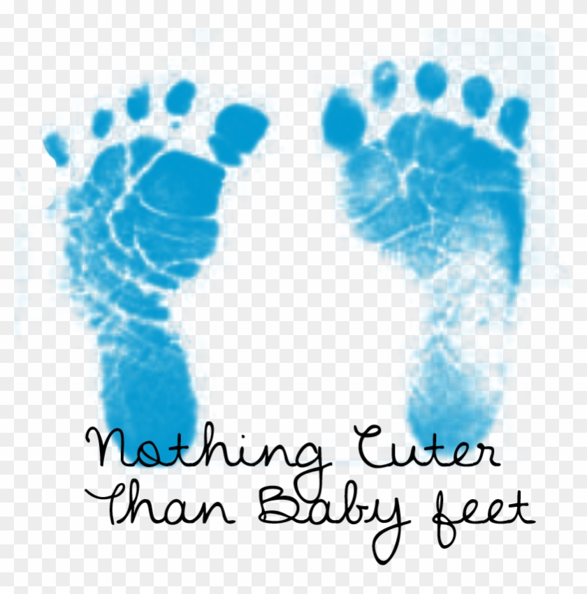 Baby Feet Heart Clipart.