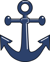 Blue Baby Sailboat Clipart.
