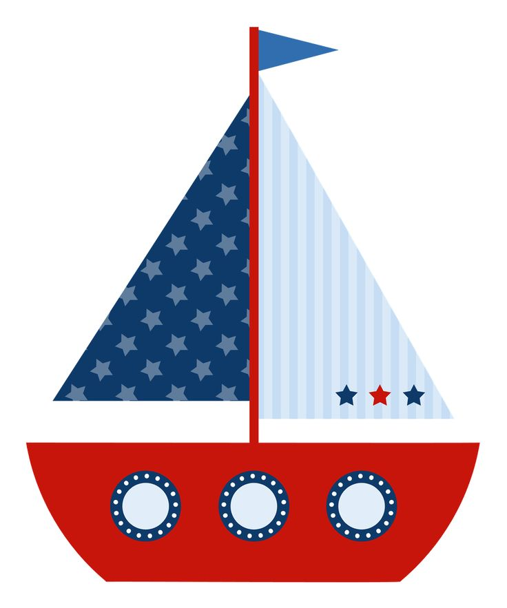 Baby Sailboat Clipart.