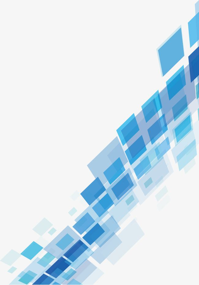 Blue Geometric Technology Background in 2019.