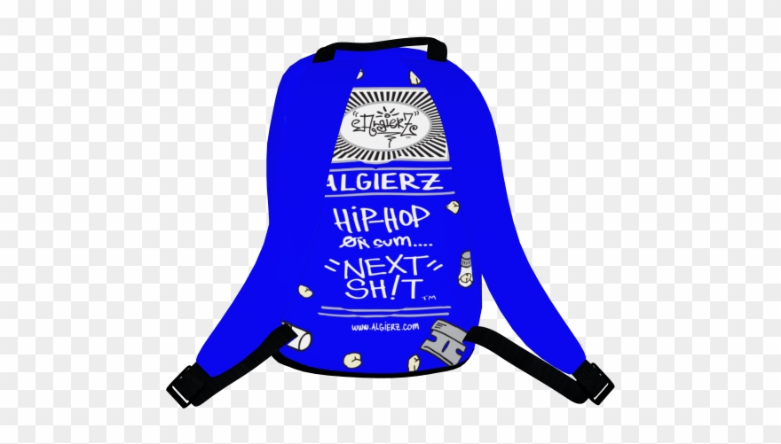 Serving Raw And Uncut, Laptop Backpack, Royal Blue.
