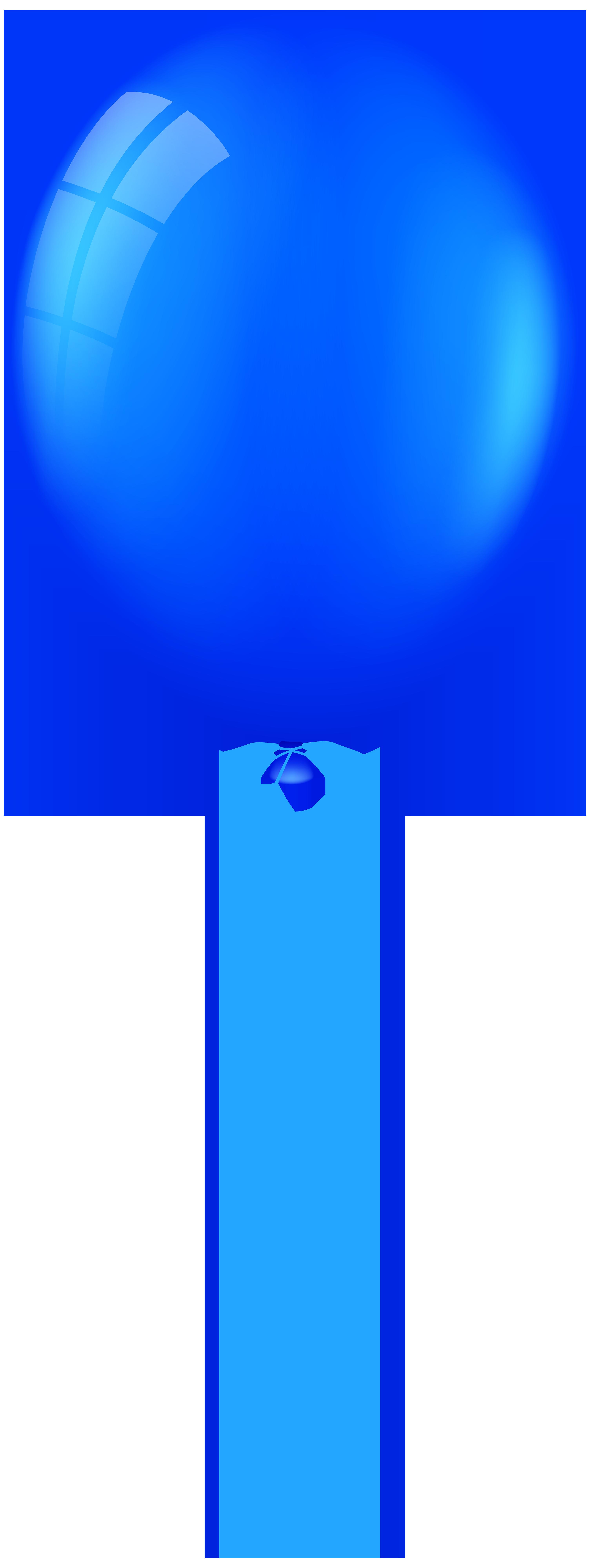 Blue Balloon PNG Clip Art.