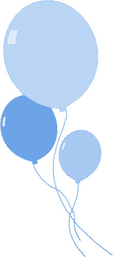 Blue Balloon Clipart.