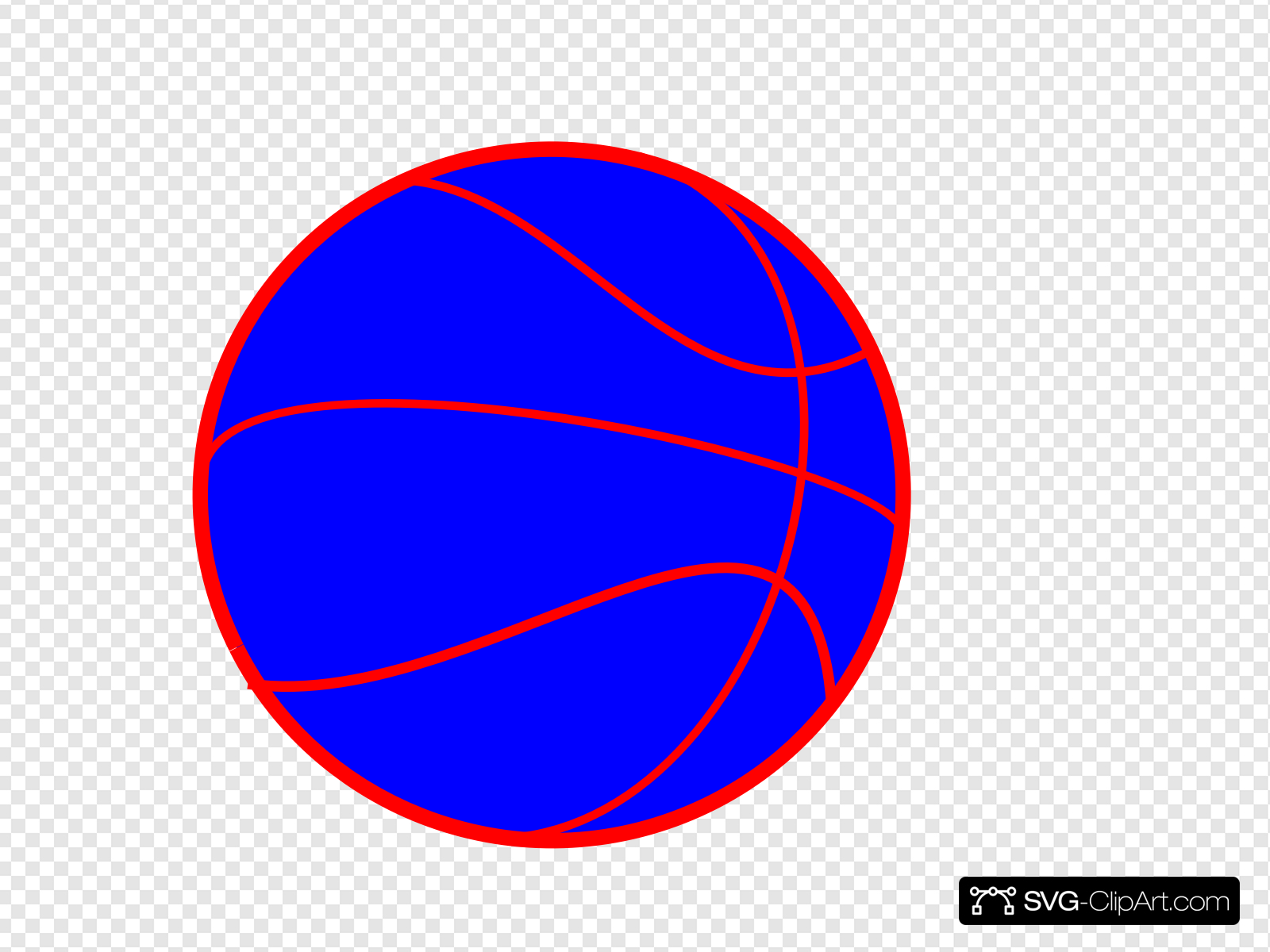 Basketball Clip art, Icon and SVG.