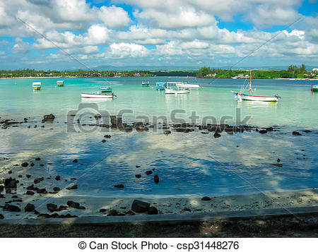 Picture of Blue Bay Mauritius.