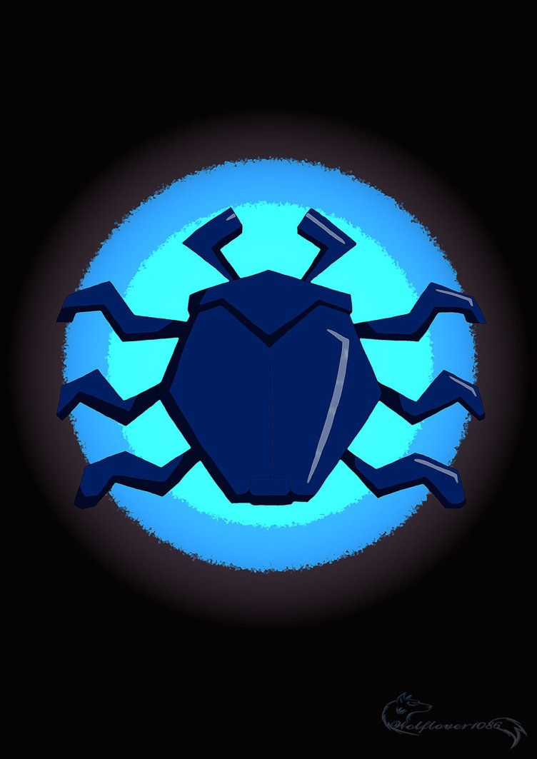 Fondo de pantalla de escarabajo azul escarabajo por.