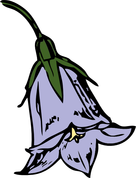 Bluebell Clipart.