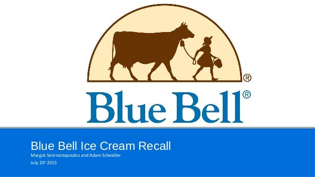 Blue Bell Creameries.