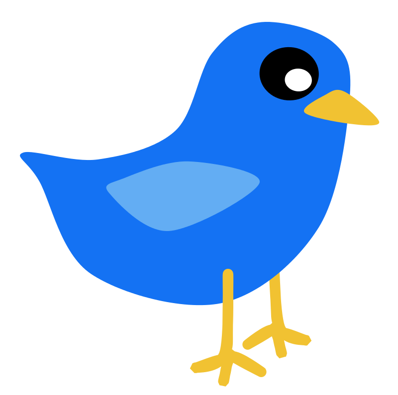 Free Clipart: Blue Bird.