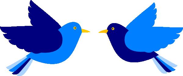 Clip Art Bluebird of Happiness.