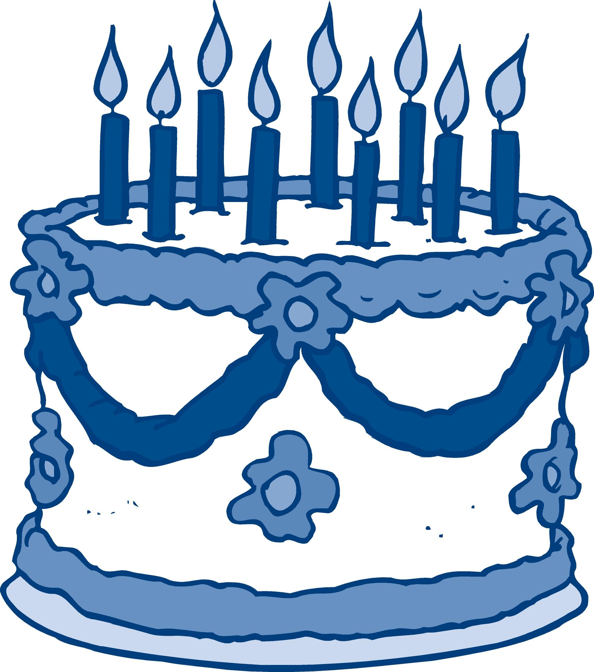Blue clipart birthday cake, Blue birthday cake Transparent.