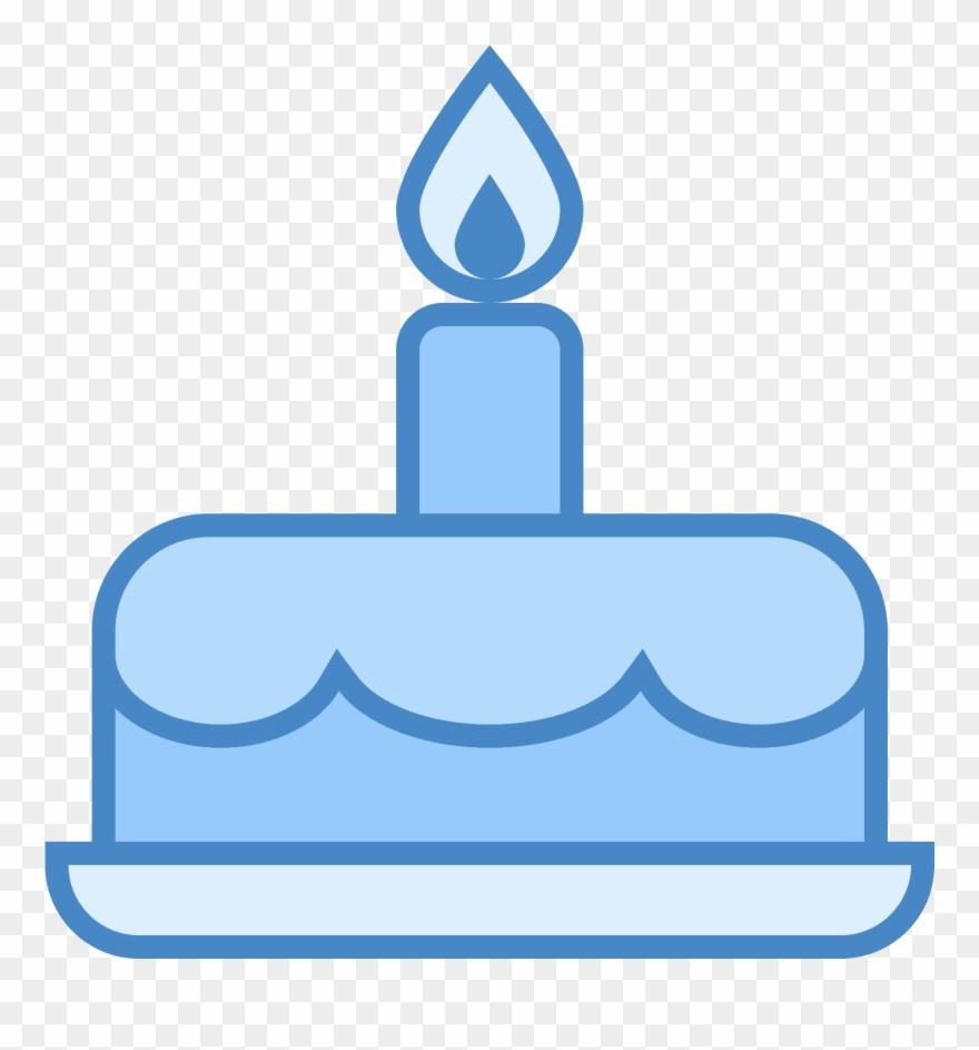 Gâteau D\'anniversaire Icon.