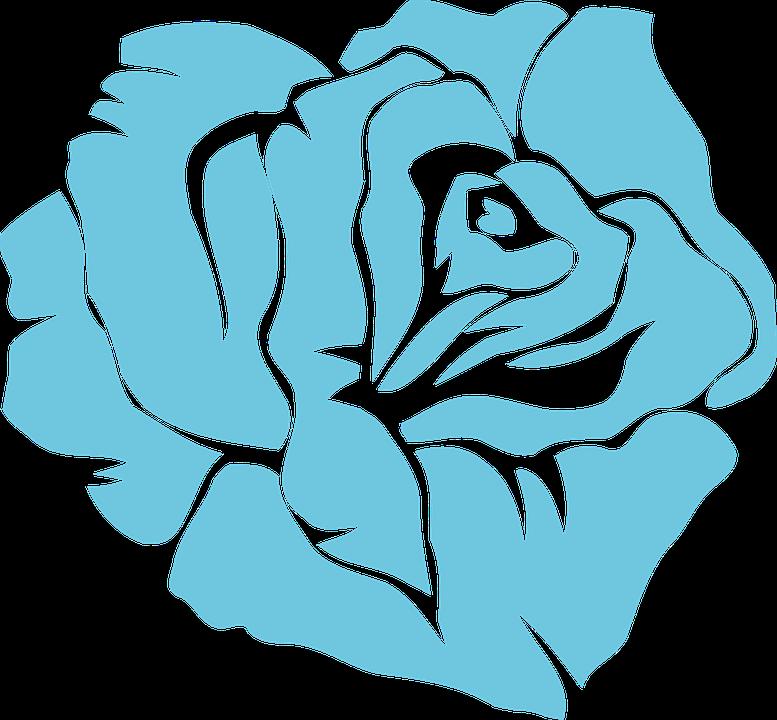 Blue, Blossom.
