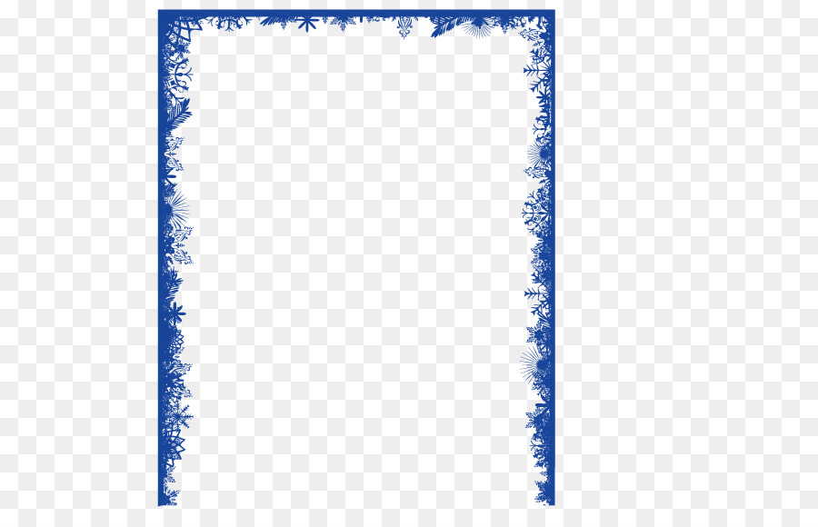 Snowflake Clip Art Blue Border Png Download 567 Fancy Primary 9.