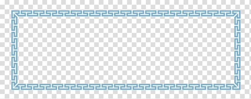 Paper Graphic design Pattern, China Wind blue border.