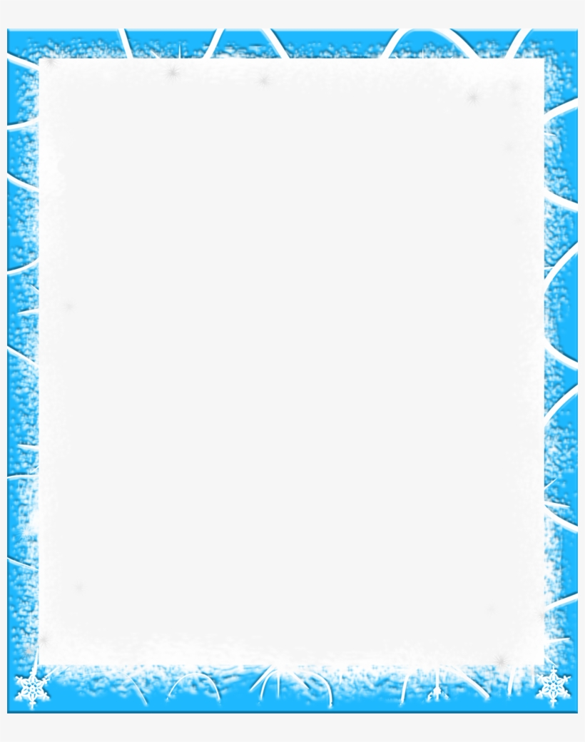 Frame Clipart Snow.