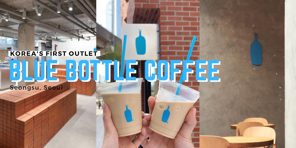 Korea's first Blue Bottle Coffee outlet opens in Seongsu on May 3.