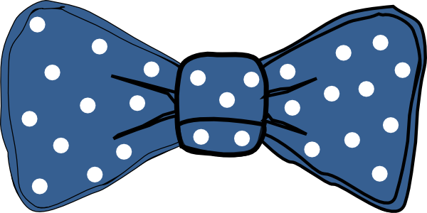 Chevron Bow Tie Clipart.