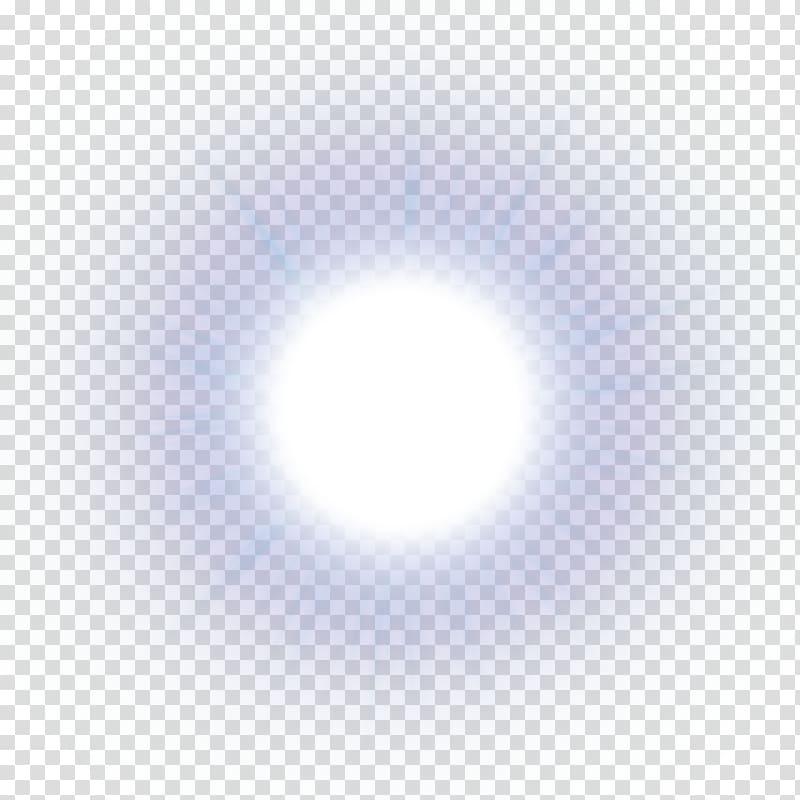 Light White RGB color model Blue, real sun , bright ball.