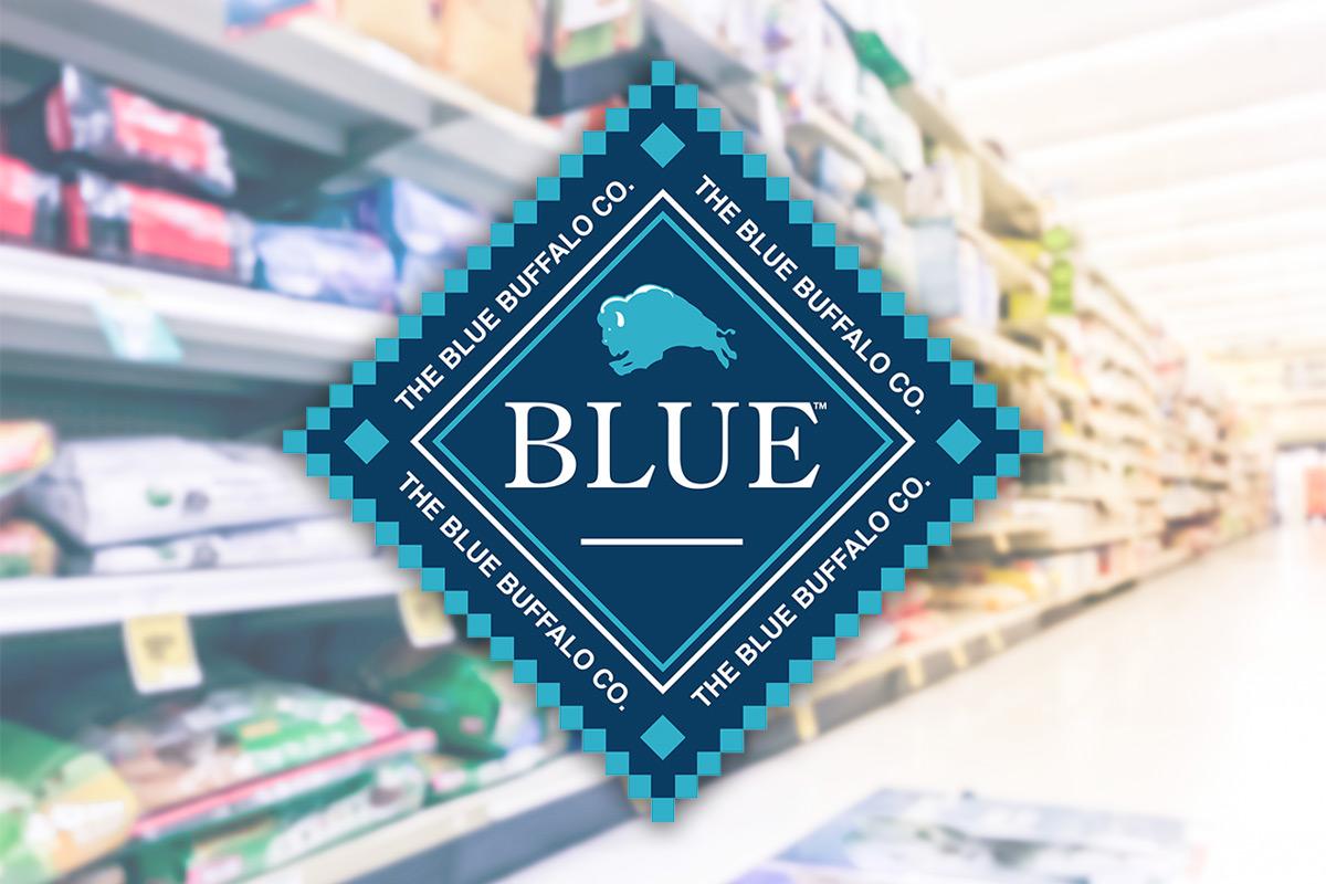 Blue Buffalo brand thriving in FDM, stumbling in pet.