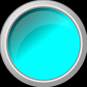Blue Push Button Clipart.