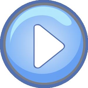 Blue Button Clip Art Download.