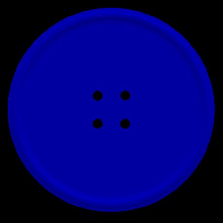 Blue Button Clip Art.