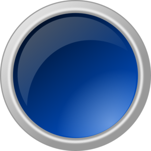 Glossy Blue Button Clip art.