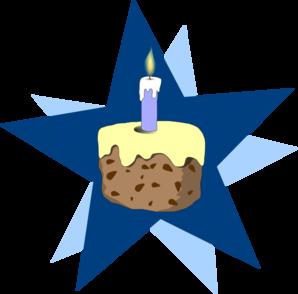 Blue Cake Clip Art at Clker.com.