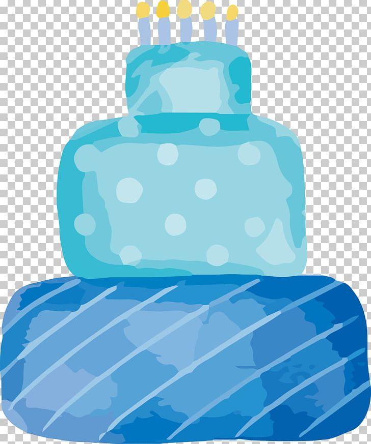 Sky Blue Cake PNG, Clipart, Aqua, Azure, Birthday, Birthday Cake.