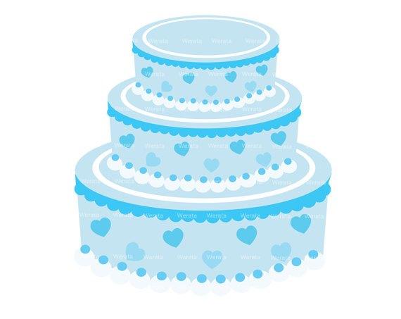 Blue cake clipart 1 » Clipart Portal.