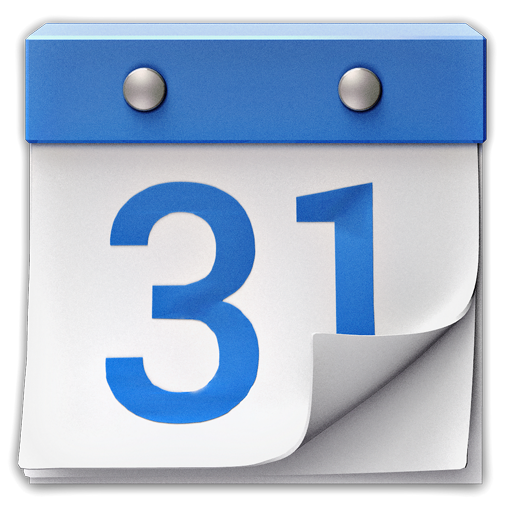 Blue Calendar Icon at GetDrawings.com.
