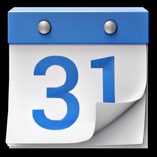 Blue Calendar Icon at GetDrawings.com.