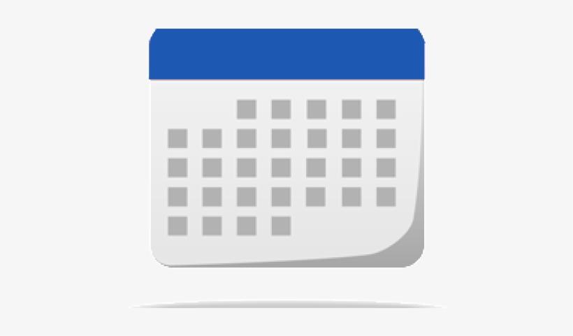 Calendar Icon Blue.