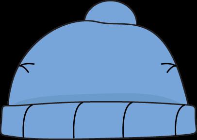 Blue hat clipart #4