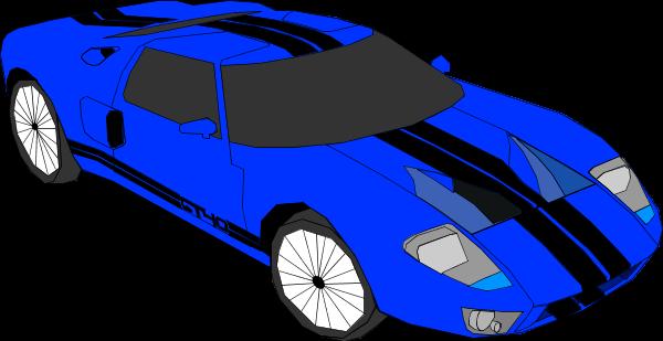 blue clipart car #10