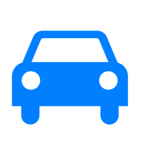 blue car clip art.