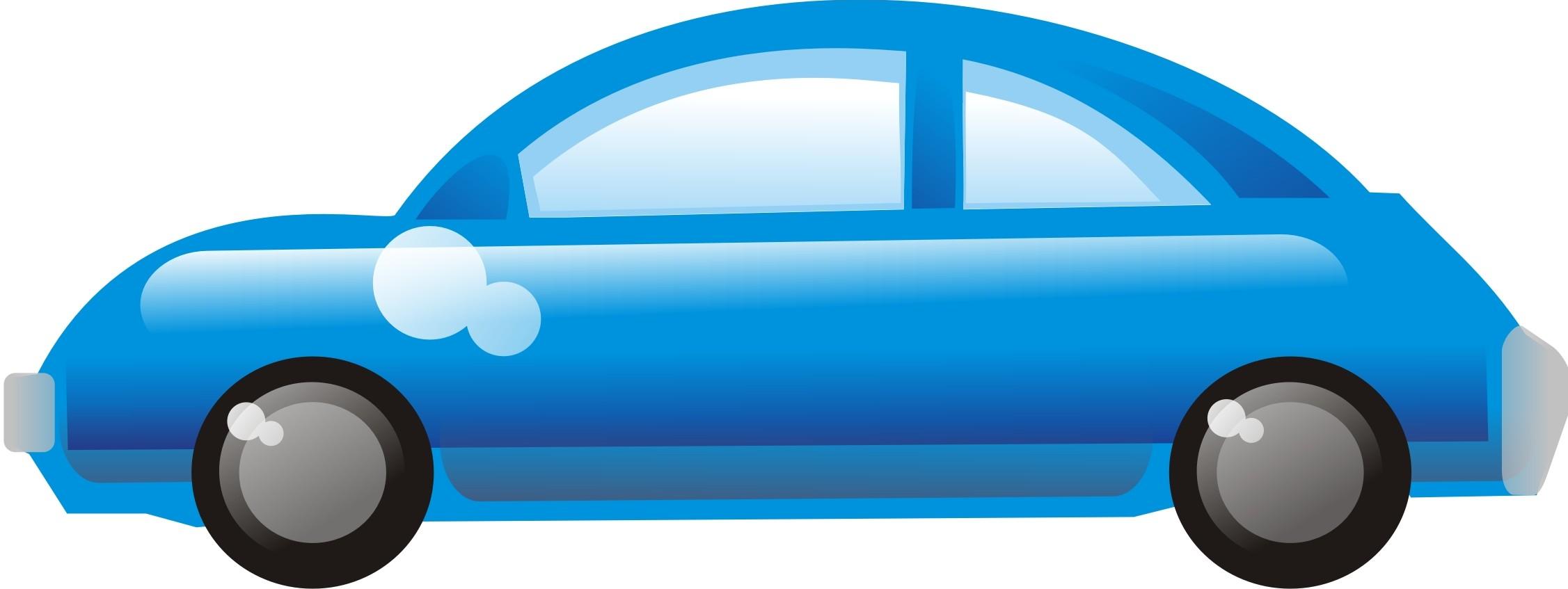 Cars blue car clipart.