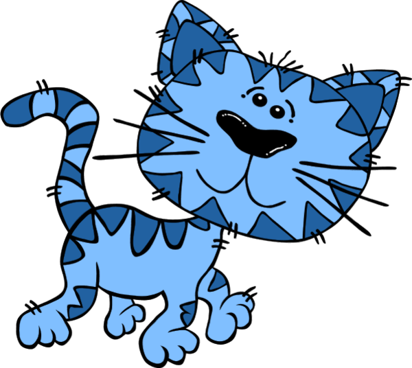 Free Blue Cat Cliparts, Download Free Clip Art, Free Clip Art on.
