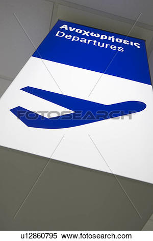 Stock Image of Blue, Capital Letter, Ceiling, Close.